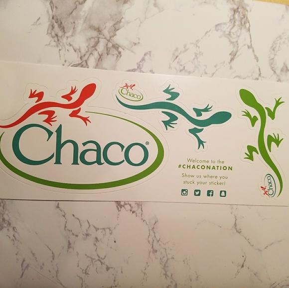 Chaco Bumper Stickers - FREE